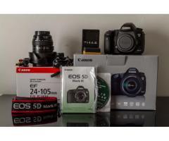 Canon EOS 5D Mark III Body /w KIT(24-105 IS) SLR Camera 23.4MP