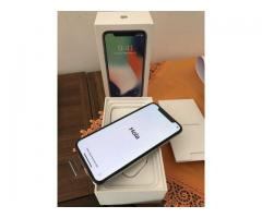 Comprar iPhone x 64gb 500$ 256gb $600 S9plus $350 Samsung S8 $250