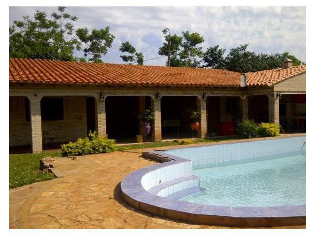 alquilo casa quinta con piscina ybycui ybycu