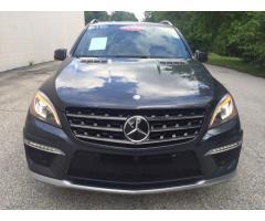 Mercedes Benz ML 63 AMG 2014
