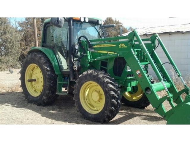 Tractor John Deere 6430 con cargador frontal completo