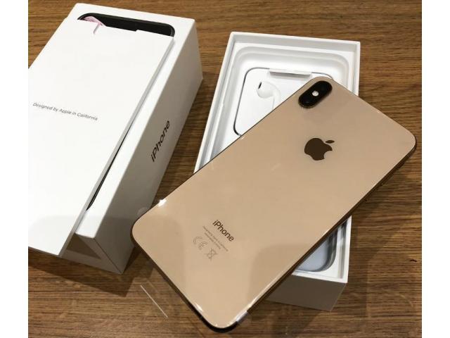 Apple iPhone XS 64GB por $450USD  , iPhone XS Max 64GB por $480USD ,iPhone X 64GB por $350USD