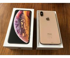 Apple iPhone XS 64GB = 400 EUR  ,iPhone XS Max 64GB = 430 EUR ,iPhone X 64GB = 300 EUR