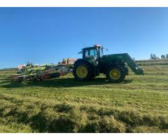 Tractor John Deere 6630 Autopower con cargador