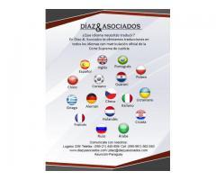 Traductores públicos matriculados - inglés-español-portugués y otros idiomas