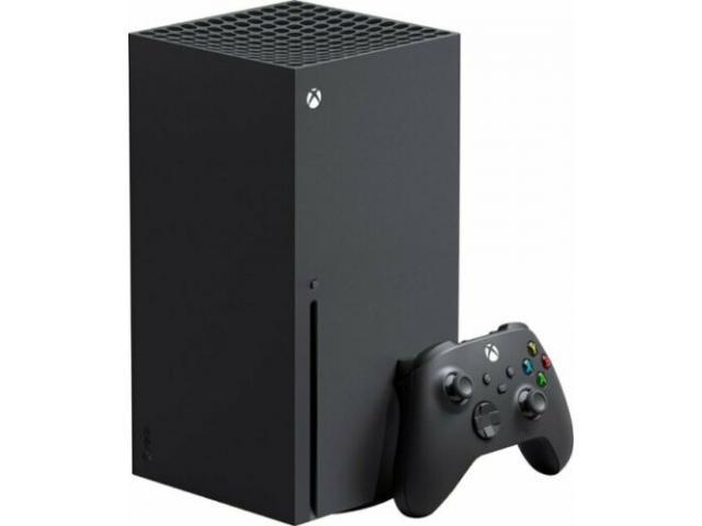 Microsoft Xbox Series X 1TB (Console + 3 Games + 2 controls)