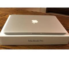 Apple Macbook Pro 15.4 Retina i7 2.8GHZ / 16GB Ram / 2TB SSD /2017