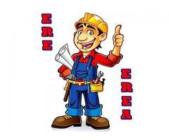 ERE EREA -- Profesionales serios con amplia experiencia en todo tipo de reparaciones en el hogar.