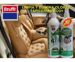 LIMPIA Y ELIMINA OLORES TAPICERÍAS ECO+