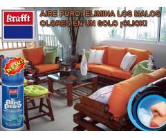 ELIMINA LOS MALOS OLORES EN UN SOLO ¡CLICK!