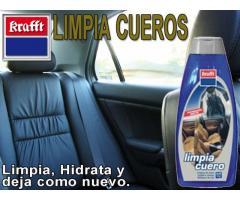 LIMPIA TAPICERÍAS DE CUERO