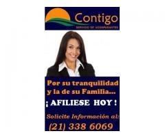 Contratacion de Acompañantes y Enfermeria en Sanatorio y Domicilio Paraguay