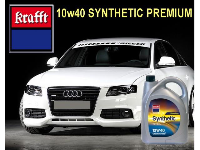 AUDI-Lubricante Krafft 10w40 SYNTHETIC PREMIUM