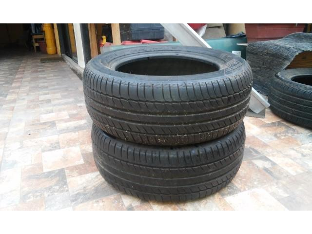 VENDO: 3 CUBIERTAS MICHELIN 225/55 R16 MERCEDES BENZ