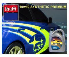 SUBARU - Lubricante Krafft 10w40 SYNTHETIC PREMIUM