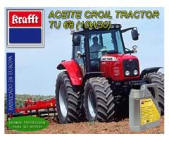 Aceite Universal para Transmisiones Automáticas de Maquinaria Agrícola Krafft