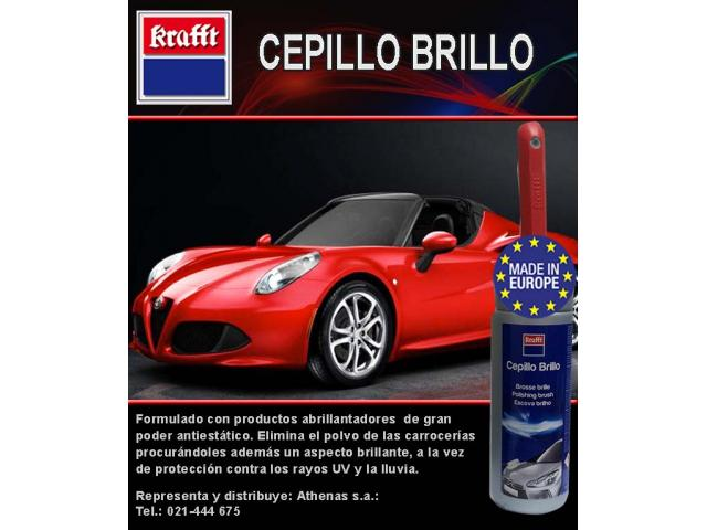cepillo brillo