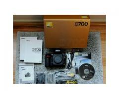 Sólo a estrenar de la cámara Nikon DSLR D700 Cuerpo