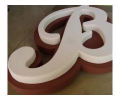 DOC STUDIO Carteles, placas acrílicas, letras corpóreas