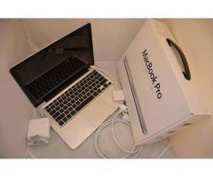 Apple MacBook pro 13'13 Intel Core i7 2.0GHz, 8GB RAM,512GB