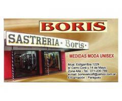 Sastreria Boris.