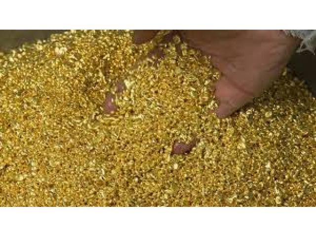 mercancías: metal (Oro)