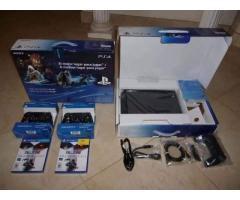 Sony PlayStation 4 - 500GB + 2 controls + 4 games + PS Camera