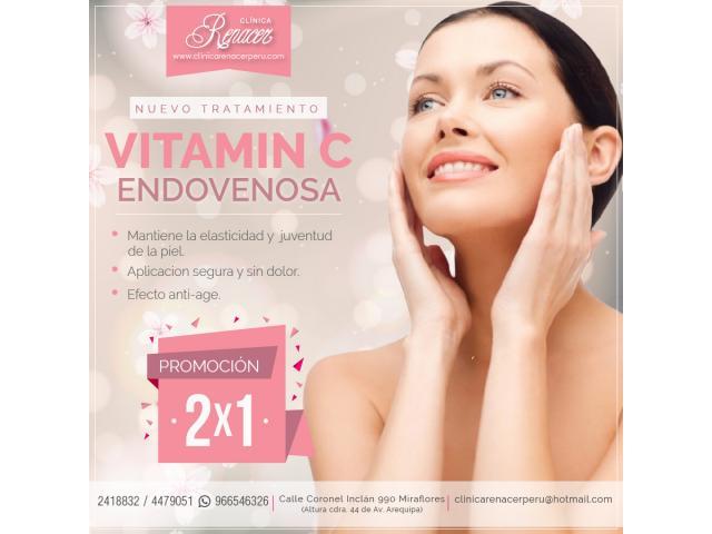 Tratamiento Vitamin C endovenosa - Clínica Renacer