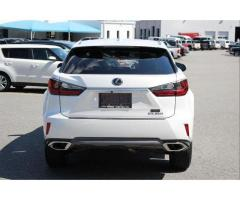 F/S : LEXUS RX 350 WHITE 2016 SUV FULL OPTION.