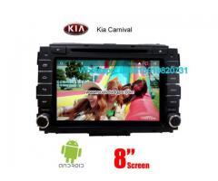 Kia Carnival car audio radio android wifi dvd GPS camera