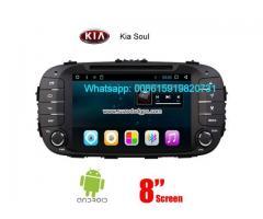 Kia Soul radio audio Cámara androide navegación dvd GPS wifi