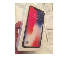 Apple iPhone X 256GB - Silver, Space Grey Unlocked Smartphone