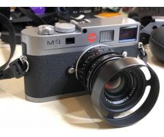 Cámara digital Leica M M9 18.0MP / Cámara digital sin espejo Fujifilm X-T1