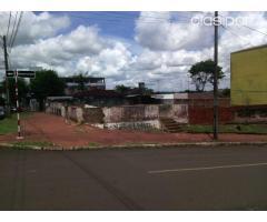 Vendo terreno de 704 m2 en el centro de Encarnacion