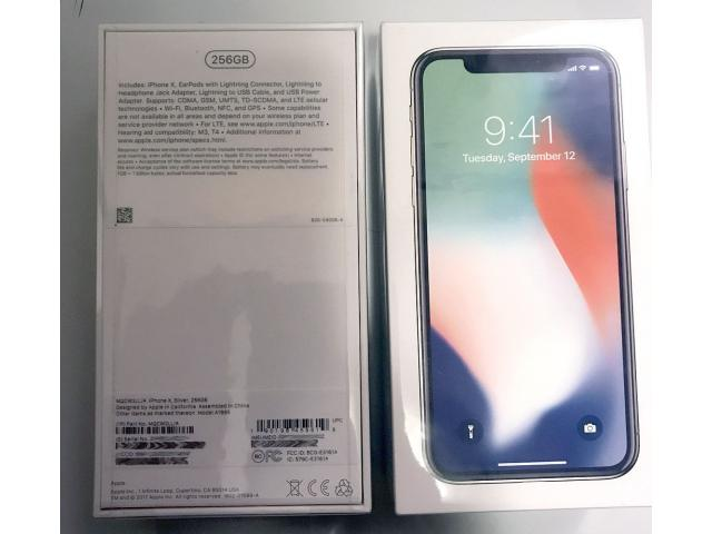 FOR SALE: Brand New Unlocked Apple iphone X  256GB     $700