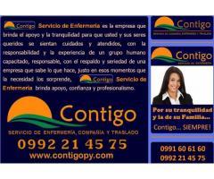 Contratacion Servicio de Enfermeria y Acompañantes en Paraguay