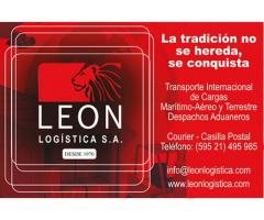 LEON LOGISTICA DESPACHOS ADUANEROS