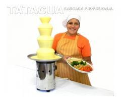FONDUE DE QUESO O CHOCOLATE CASCADAS
