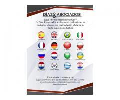 Traductores Públicos Matriculados inglés, español, portugués y otros idiomas