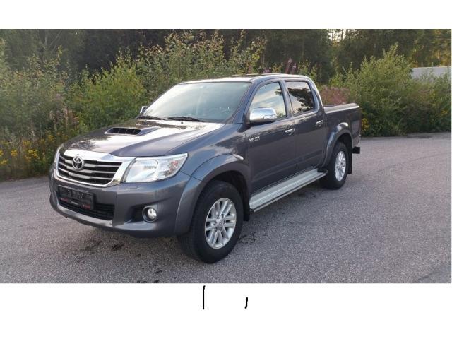 Toyota HiLux 3.0 171 HK DOBBEL CAB 2014
