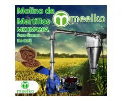 Molino de acero inoxidable para harinas de consumo humano - MKCF450