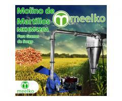 Molino triturador para granos de sorgo