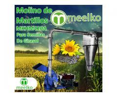 Molinos de martillos Meelko para semilla de girasol