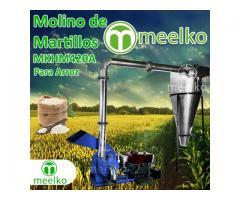Molino triturador Meelko de arroz