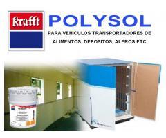 Krafft polysol /Recubrimiento de suelos interiores mediante poliuretano bicomponente autonivelante.