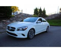 2018 Mercedes Benz CLA 250